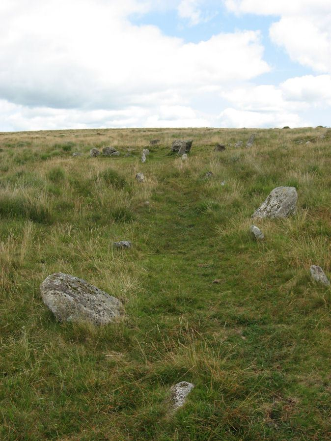 Hart Tor North Stone Row