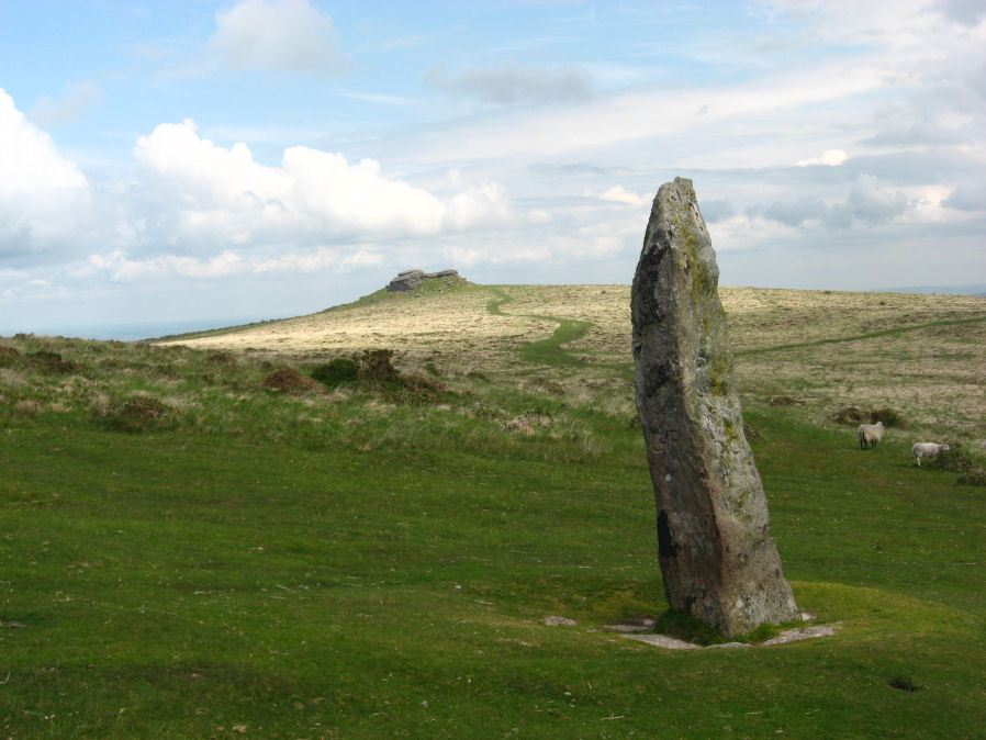 Shovel Down Long Stone Standing Stone