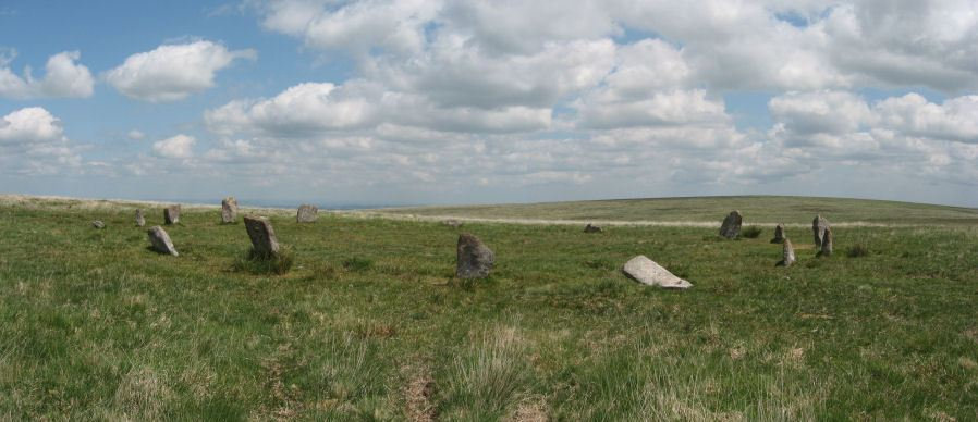 Little Hound Tor (or White Moor) Stone Circle