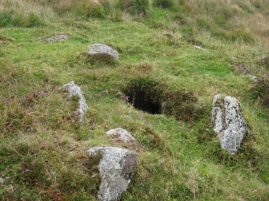 Foxtor Mires W. Platform Cairn Circle and Cist