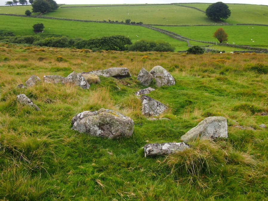 Cullever Steps Ring Setting Cairn and Cist