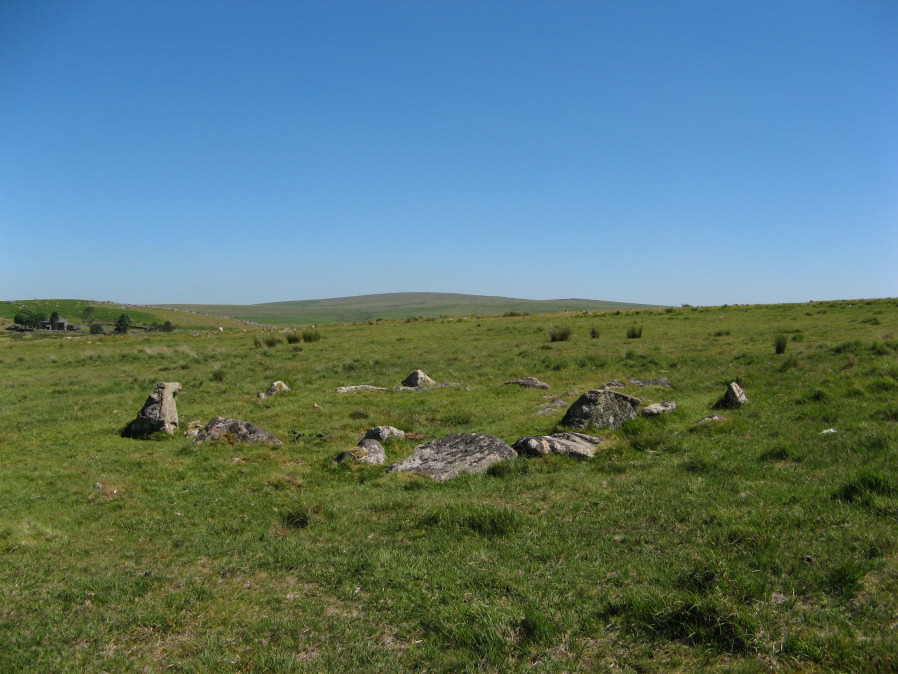Ditsworthy Circle Ring Setting Cairn and Cist