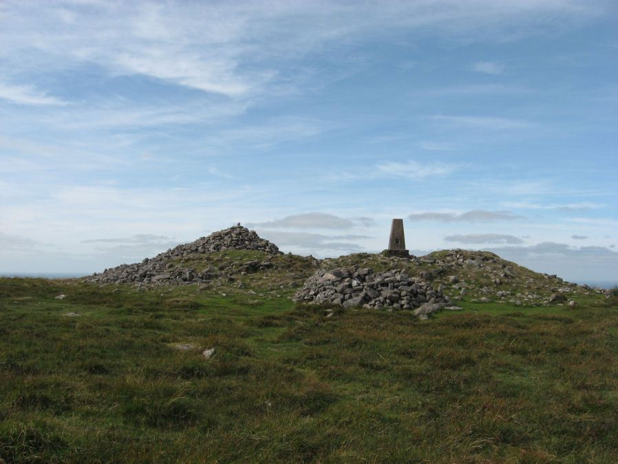 Cosdon Beacon Cairn