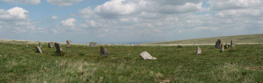 White Moor (Little Hound Tor) Stone Circle